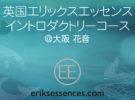エリックスエッセンス イントロダクトリーコース@大阪 花音