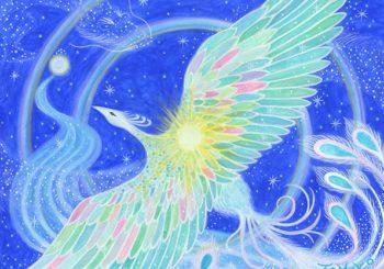 天海空を超えて銀河の星々へ届ける祈り – 天の川智子 展